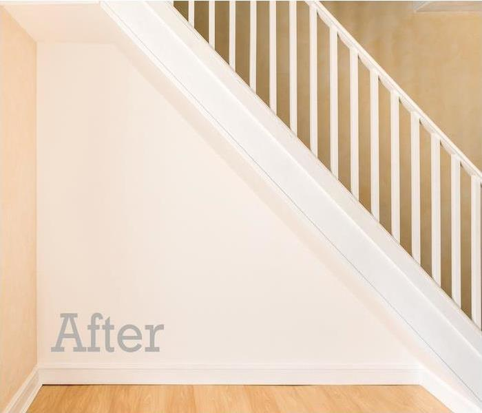 restored and clean staircase